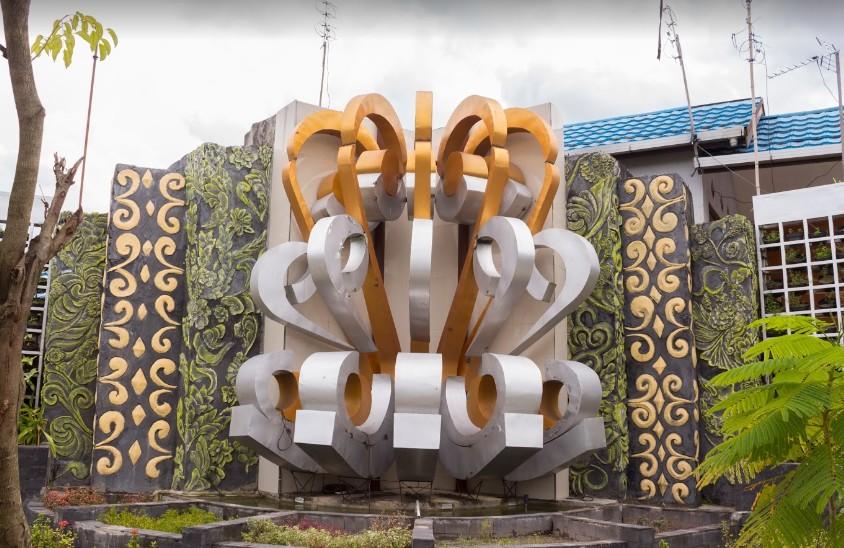 Instakalimantan Hanafi Tugu Kota Banjarmasin Taman Bungas Jl Antasan Kecil