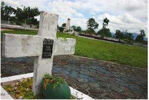 Monumen Bersejarah Polda Kalsel Mathilda Batalyeri Tanah Perkuburan Nasrani Jl