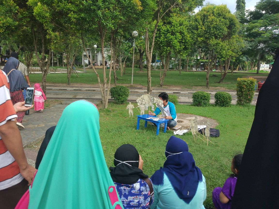 Pentaskan Wayang Warrior Fctc Dukung Banjarmasin Kota Layak Anak Iklan