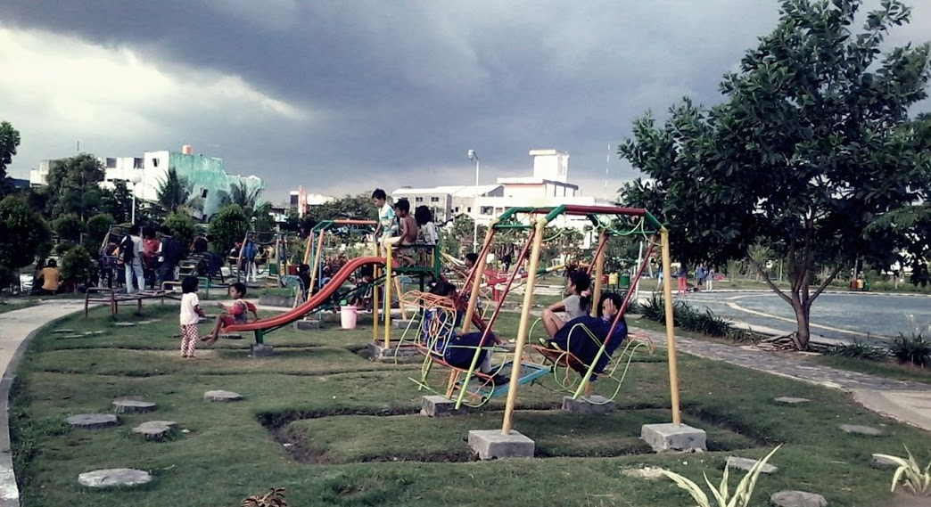 Taman Kota Banjarmasin Kuninghijau Kamboja Kab