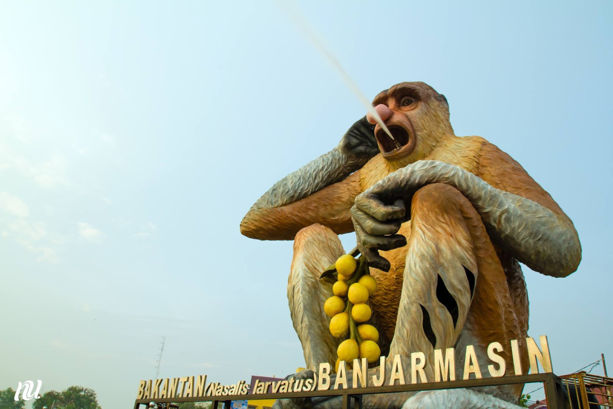 10 Favorite Tourist Spot Visited Banjarmasin Nina Taman Maskot Kab