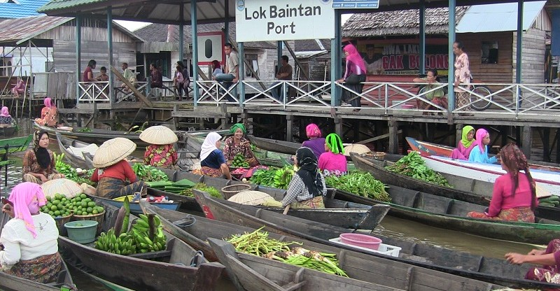 12 Objek Wisata Keren Banjarmasin Siapa Bilang Pasar Terapung P