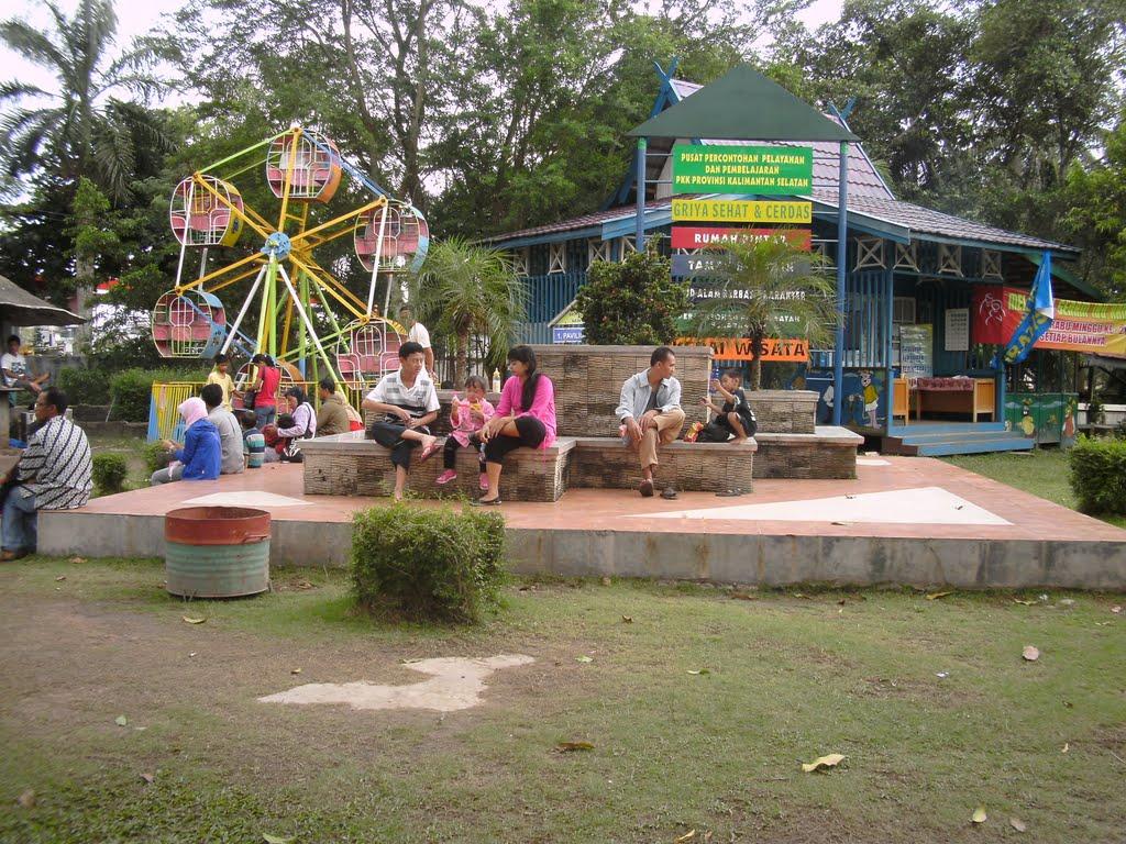 5 Tempat Wisata Hits Kalimantan Selatan Taman Maskot Kab Banjarmasin