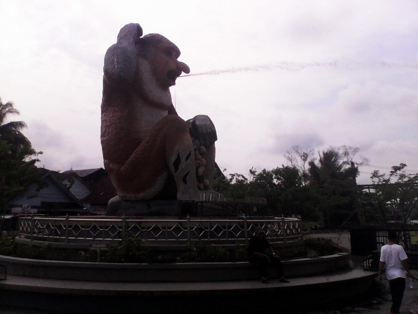 Akhmad Husaini Taman Maskot Bekantan Kota Banjarmasin Rabu 12 April