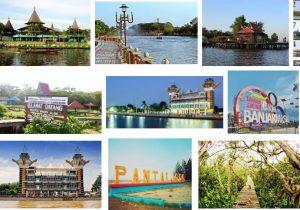 Inilah 20 Tempat Wisata Banjarmasin Instagrammable Taman Maskot Kab