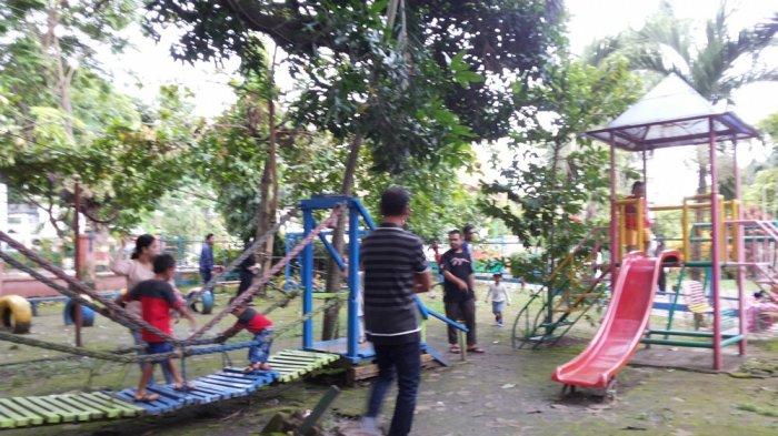 Tag Taman Maskot Banjarmasin Ramainya Bekantan Akhir Pekan Kab