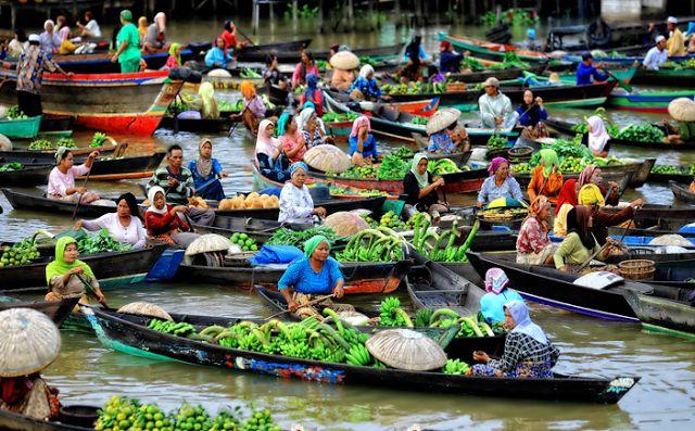 24 Tempat Wisata Banjarmasin Kalimantan Selatan Yg Wajib Dikunjungi Pasar
