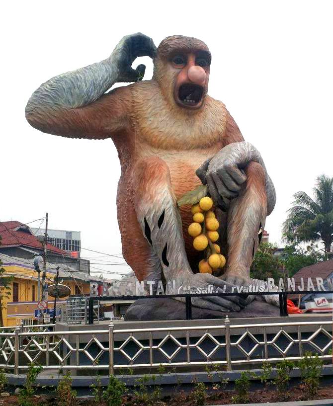 Indahnya Tempat Wisata Banjarmasin Tips Trik Seo Blogger Taman Maskot