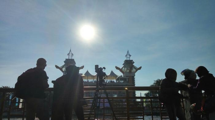 Menara Pandang Jadi Objek Foto Favorit Warga Banjarmasin Post Rahmadhani