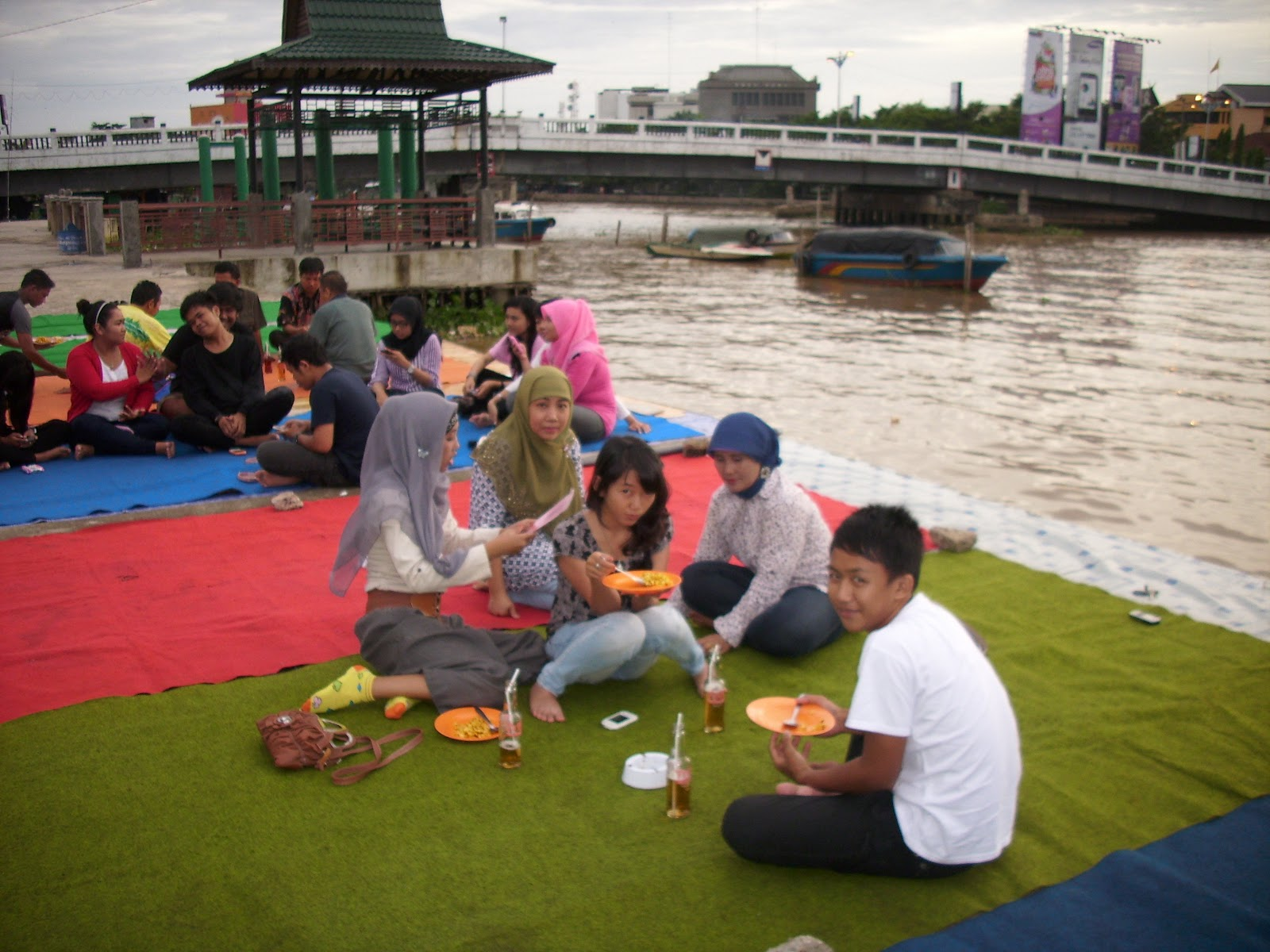Siring Martapura Wisata Kota Banjarmasin Parigal Samsuni Identik Seribu Sungai