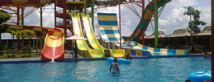 Banjarmasin City Thousands River Waterboom Pesona Modern Banua Anyar Kab