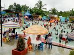 Waterboom Banjarmasin Post Asyik Balangan Punya Waterpark Banua Anyar Kab