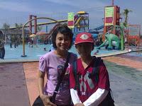 Jupriyanto Kuala Kapuas Kalteng Piknik Ancol Water Boom Pesona Septi