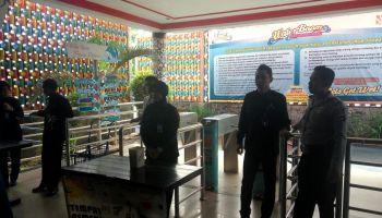 Libur Idul Adha Personil Kertak Hanyar Lakukan Pengamanan Tempat Polsek