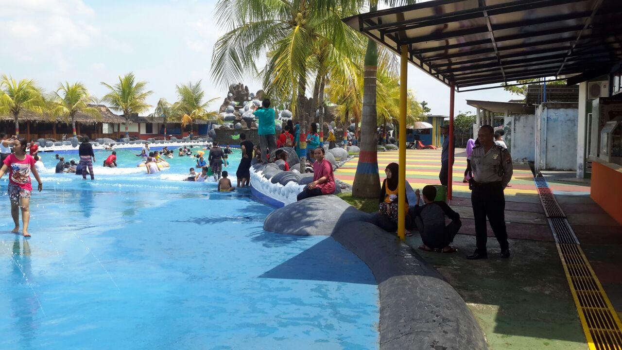 Libur Idul Adha Personil Kertak Hanyar Lakukan Pengamanan Tempat Wisata