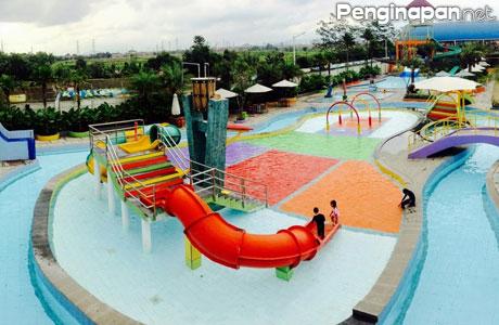 Lokasi Wisata Wahana Permainan Air Seru Menarik Bandung Panghegar Waterboom
