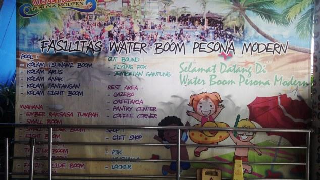 Reyhan Choiri Cerita Tentang Liburan Fasilitas Waterboom Pesona Modern Kab