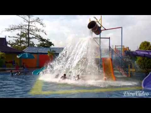 Water Boom Pesona Modern Nanang Galuh Intan Explore Kabupaten Alfin