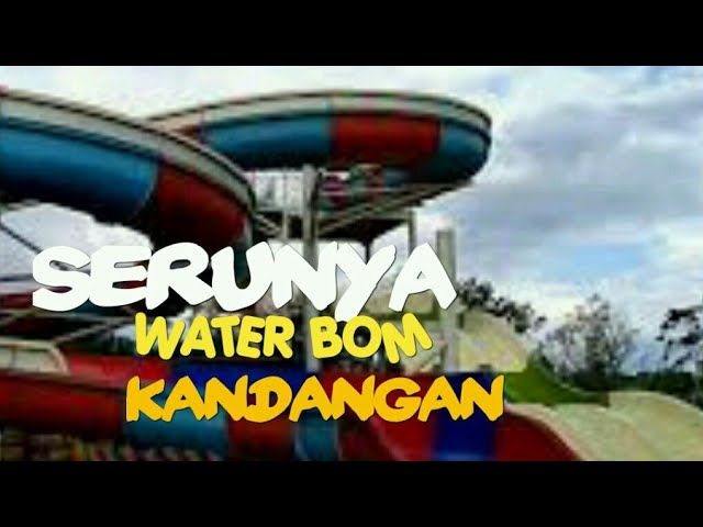 Water Boom Pesona Modern Nanang Galuh Intan Explore Kabupaten Banjar