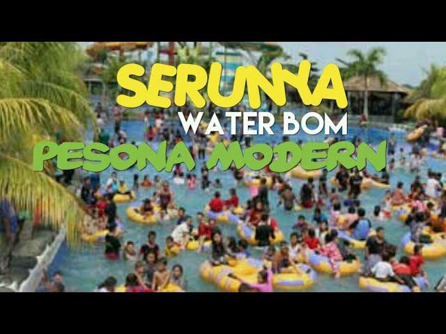 Water Boom Pesona Modern Nanang Galuh Intan Explore Kabupaten Bom