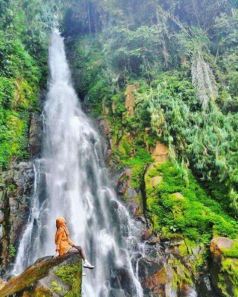24 Tempat Wisata Terlengkap Banjarnegara Jawa Tengah Curug Mrawu Anglir