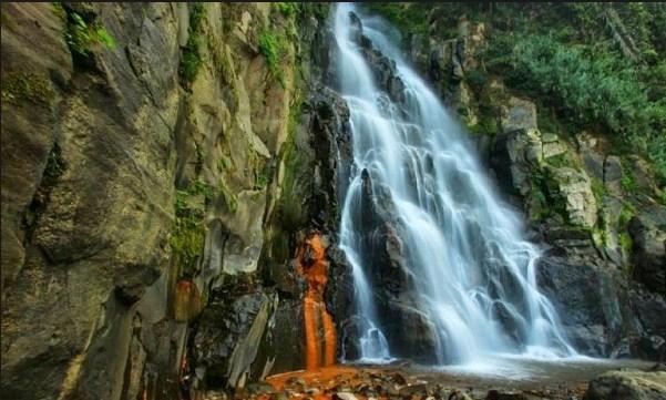 35 Tempat Wisata Banjarnegara Sekitarnya Terpopuler Daftar Curug Mrawu Anglir