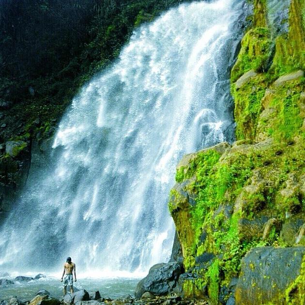 Curug Pundung Sewu Banjarnegara Wisata Alam Masuk Kawasan Terlihat Alami