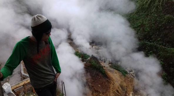 Kawah Candradimuka Dieng Wisata Alam Banjarnegara Cukup Dataran Tinggi Salah