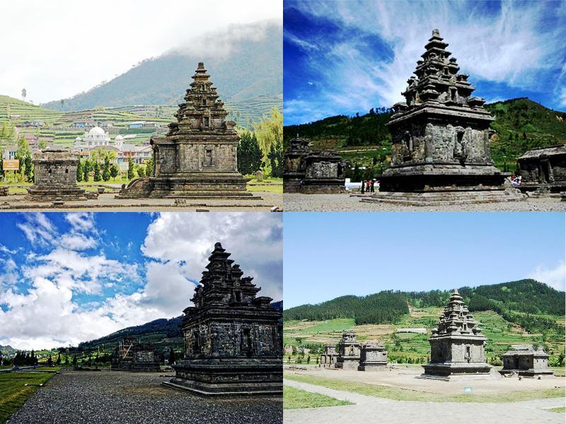 Kumpulan Tempat Wisata Banjarnegara Arjuna Jawa Tengah Terletak Datarann Tinggi