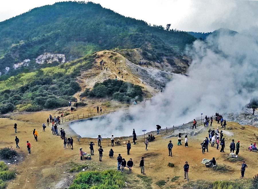 Kumpulan Tempat Wisata Banjarnegara Gunung Lanang Anglir Mendung Kab