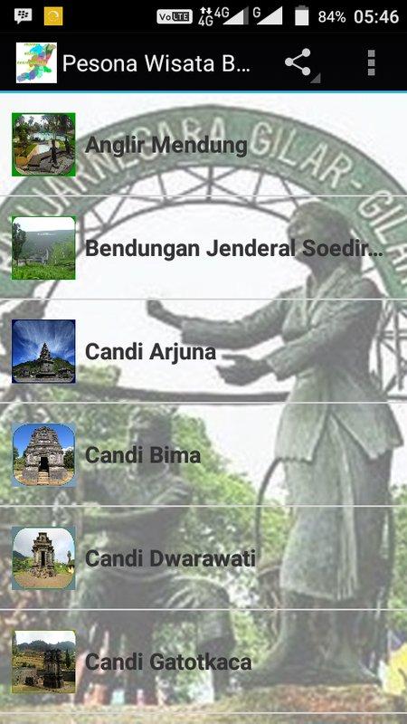 Pesona Wisata Banjarnegara Apk Download Free Entertainment App Poster Anglir