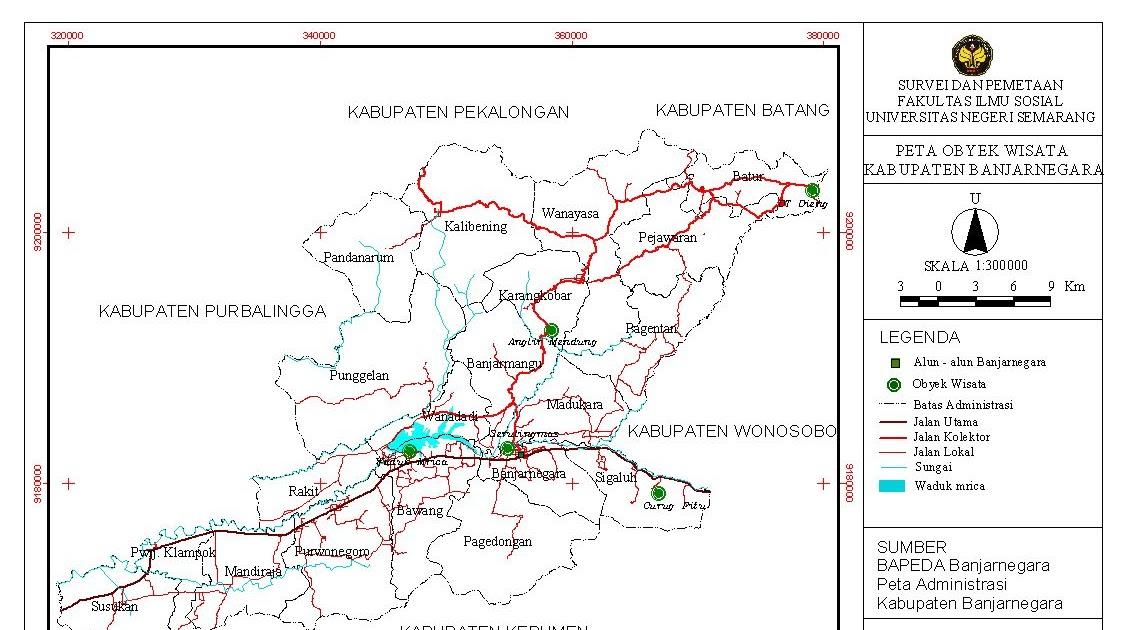 Surveyor Wisata Banjarnegara Anglir Mendung Kab