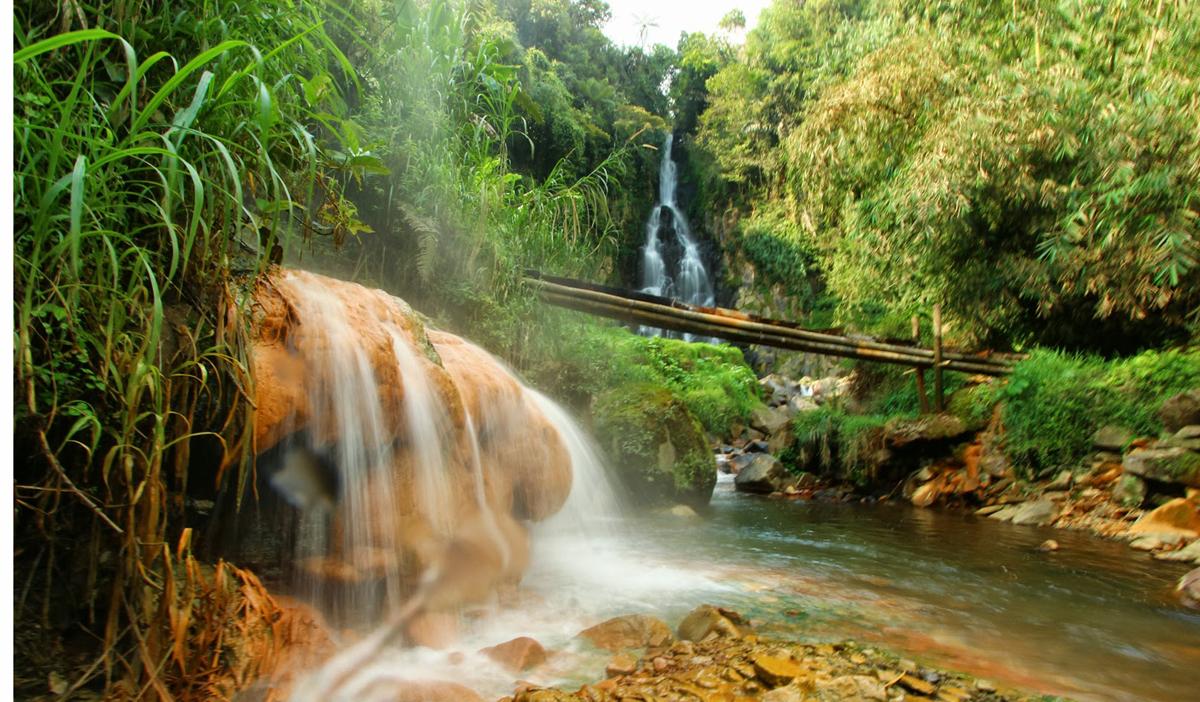 Tempat Wisata Banjarnegara Rekomendasi Fjj Curug Mrawu Objek Berlokasi Desa