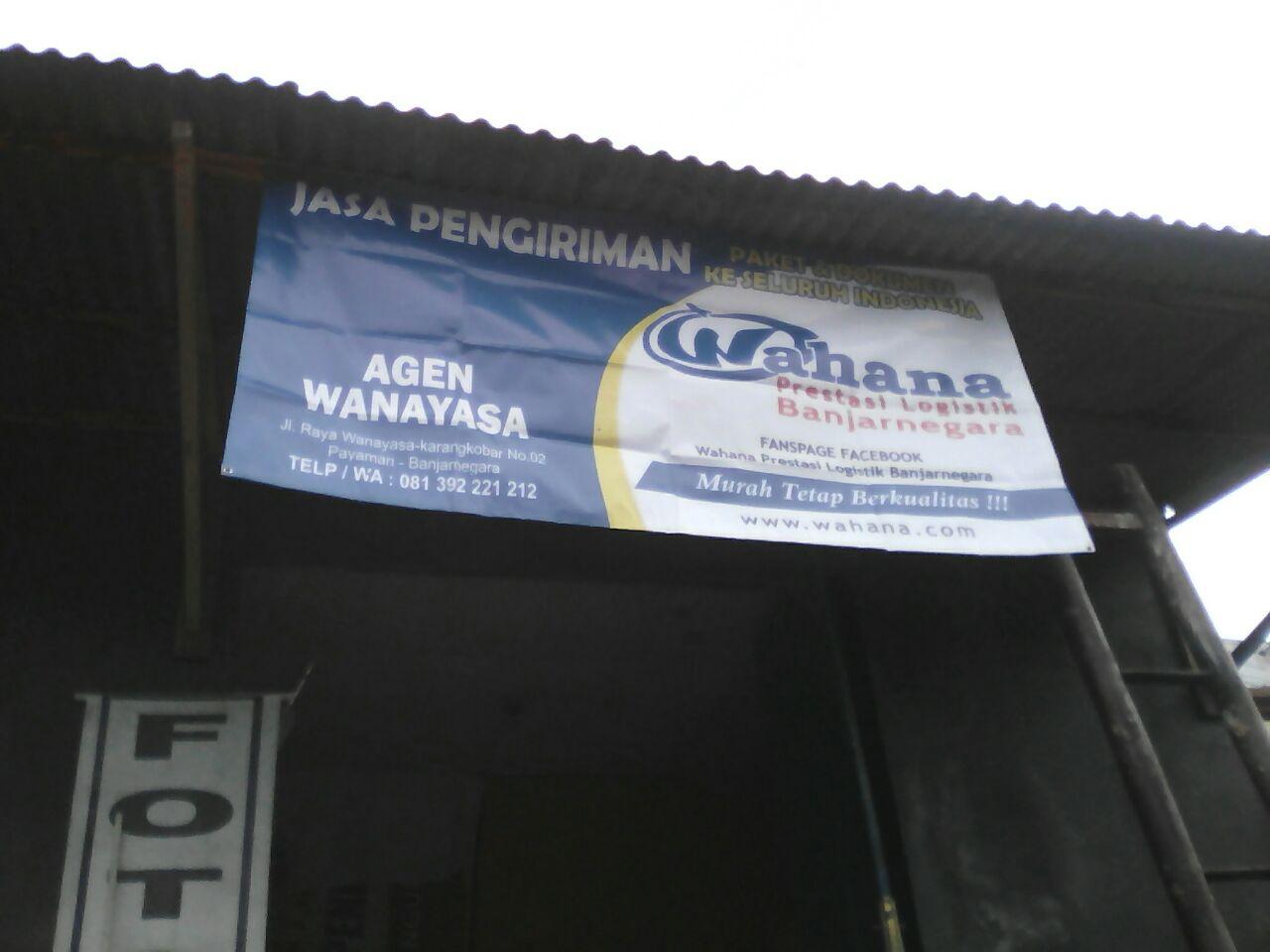 Wahana Prestasi Logistik Banjarnegara November 2016 Alamat Ds Wanayasa Rt