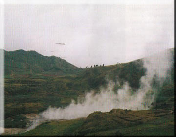 Wisata Travelling Gambar Kabupaten Banjarnegara Atas Kiri Kanan Anglir Mendung