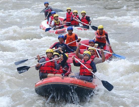 Arung Jeram Rafting Serayu Adventure Indonesia Picture Arum Sungai Kab