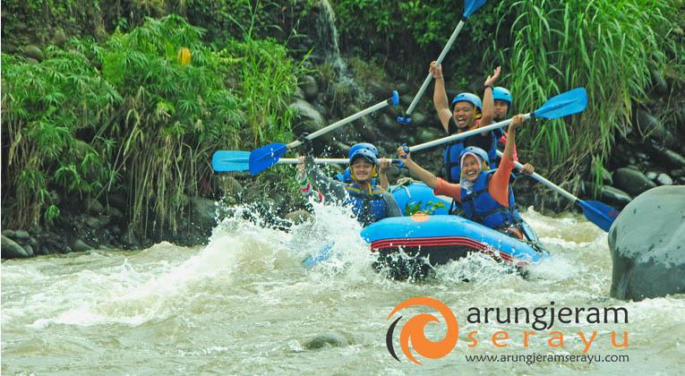 Arung Jeram Serayu Feel Colourfull Adventures Sungai Arum Kab Banjarnegara