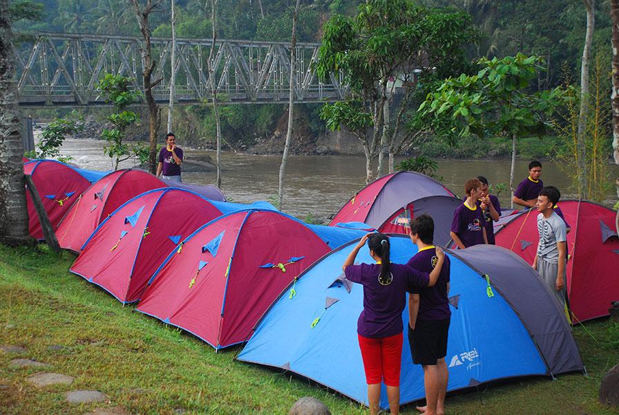 Bannyuwoong Adventure Rafting Camping Outbond Paintball Arung Jeram Sungai Serayu