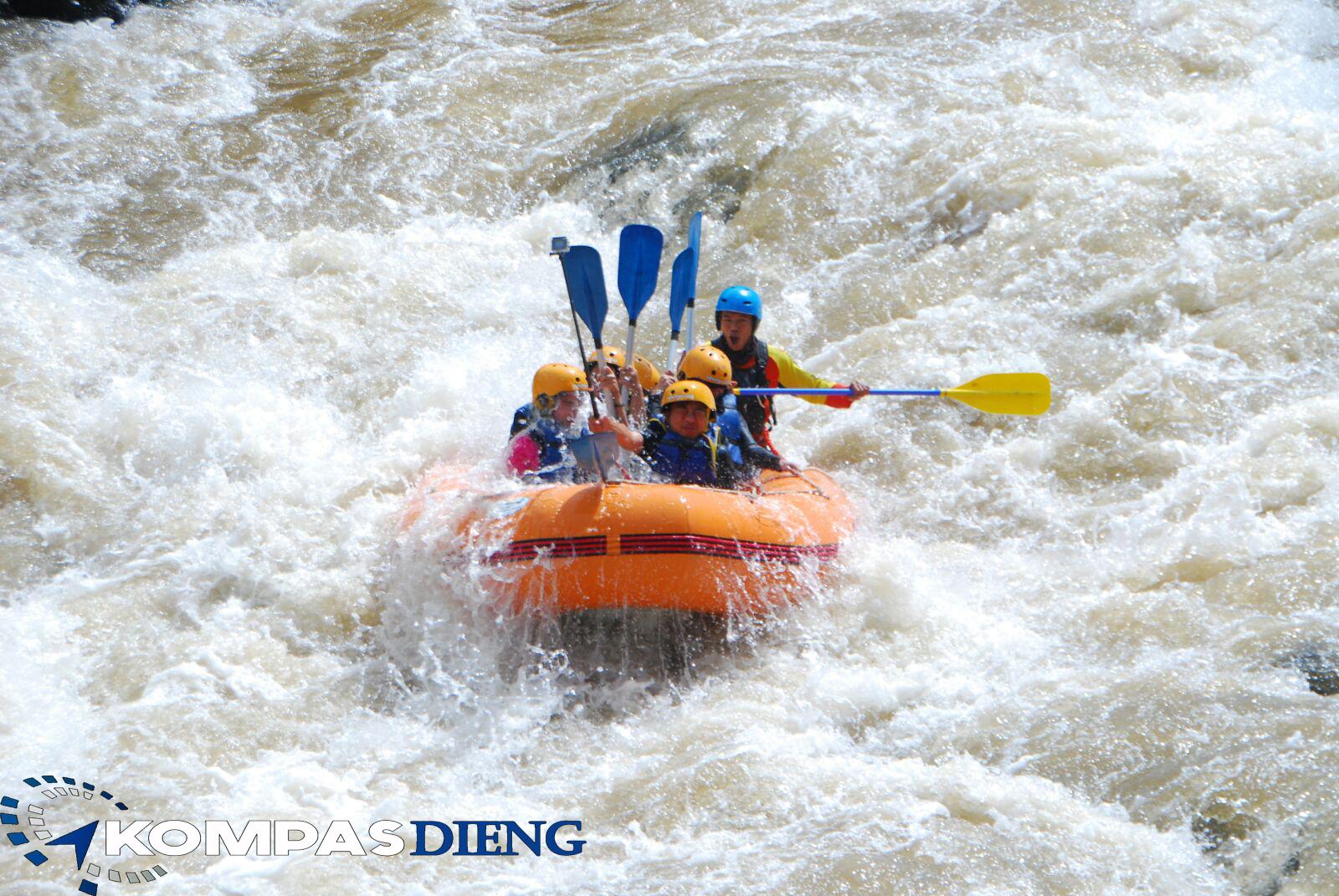Paket Arung Jeram Sungai Serayu Wisata Dieng 2 Hari 1