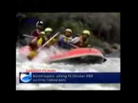 Rafting Arung Jeram Sungai Serayu Banjarnegara Seputar Indonesia Adventure Youtube