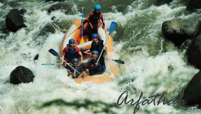 Rafting Sungai Serayu Arfathah Personal Blog Arung Jeram Arum Kab