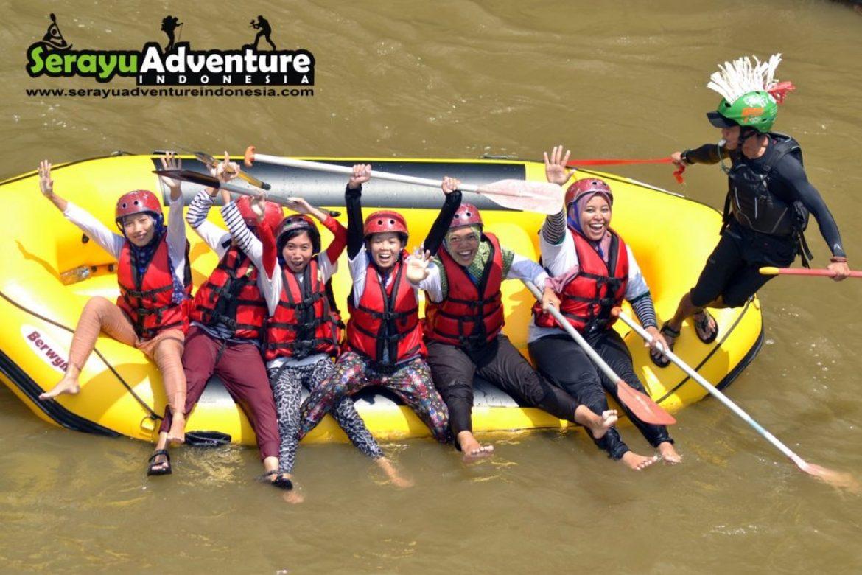 Serayu Adventure Arung Jeram Sungai Banjarnegara Arum Kab