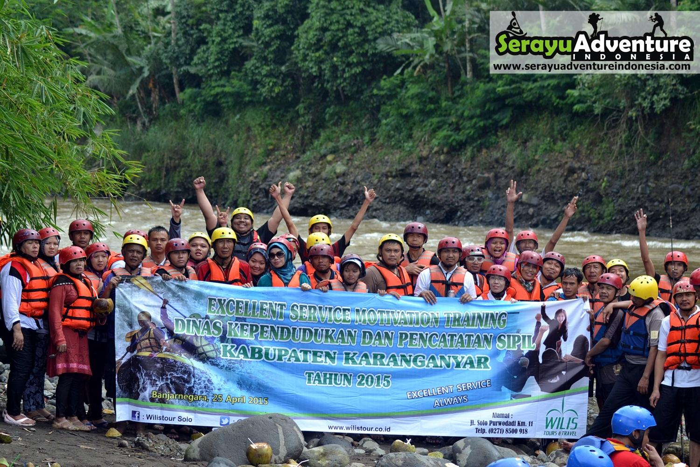 Serayu Adventure Indonesia Wisata Arung Jeram Dinas Kependudukan Pencatatan Sipil
