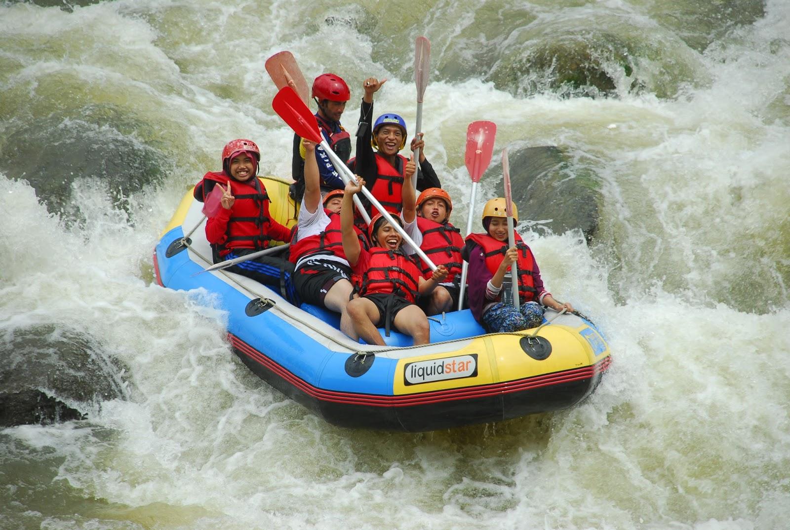 Wisata Arung Jeram Serayu Banjarnegara Menguji Adrenalin Adventure Rafting Sungai