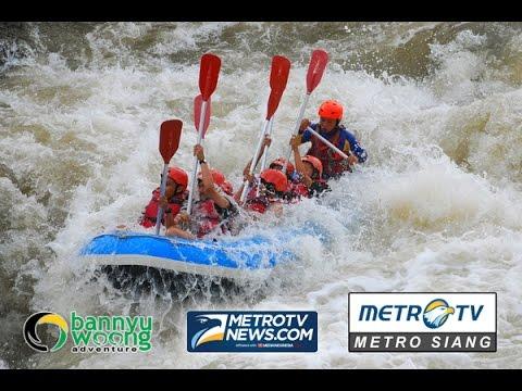Wisata Arung Jeram Sungai Serayu Memicu Adrenalin Metro Tv News