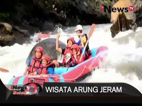 Wisata Rafting Arung Jeram Sungai Serayu Banjarnegara Petualangan Menguji Adrenalin