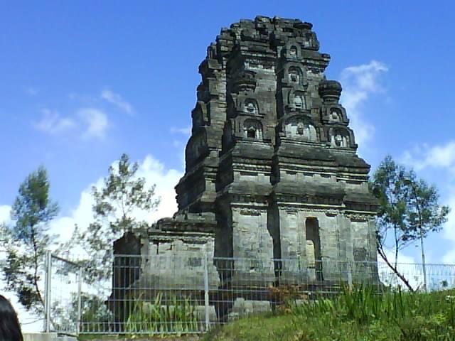 218 Obyek Wisata Sejarah Candi Bimakab Banjarnegara Alam Berada Kondisi