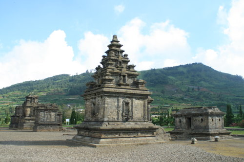Candi Arjuna Bima Dieng Kab Banjarnegara