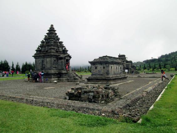 Candi Arjuna Dieng Kulon Desa Kabupaten Banjarnegara Trans Wisatawan Memiliki