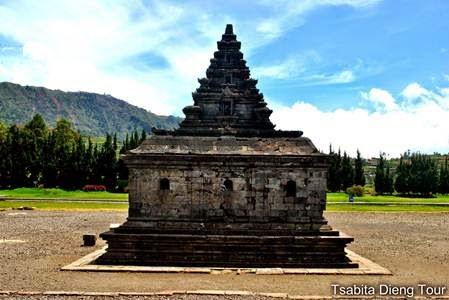Candi Arjuna Pandawa Dieng Paket Tour Wisata Peninggalan Kerajaan Sanjaya